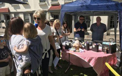 Weybridge Summer Market & Entertainment, with TV Celebrity Ruth Langsford