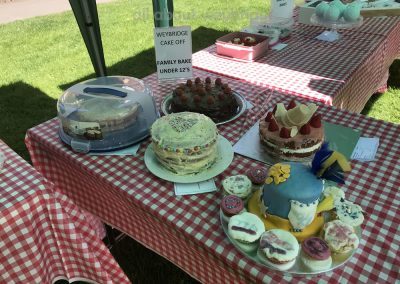 Selection from Childrens Family Bake Competition - Cakes in The Great Weybridge Bake-Off 2018