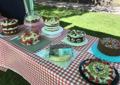 Selection from Family Bake Table - Cakes in The Great Weybridge Cake Baking Competition 2018