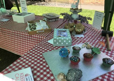 Selection from Kids Half Dozen Small Bakes Competition - Cakes in The Great Weybridge Bake-Off 2018