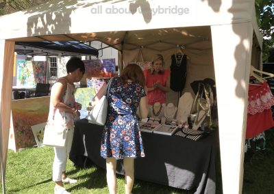 Stella and Dot Jewellery and Clothing Stall at the Artisan Market on Monument Green Weybridge Surrey