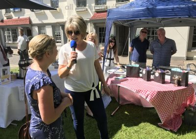 Winner of Small Bakes Competition with Ruth Langsford at Great Weybridge Cake-off