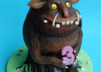 3D Gruffalo Birthday Cake