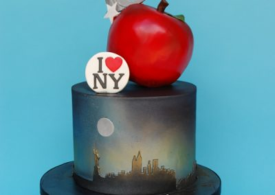 Birthday Cake Big Apple New York