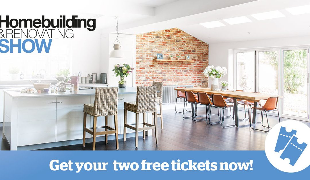 Homebuilding and Renovating Show at Sandown Park Esher Surrey – Free Tickets From The Storage Pod