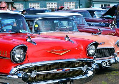 American Car Day at Brooklands Museum Weybridge Surrey