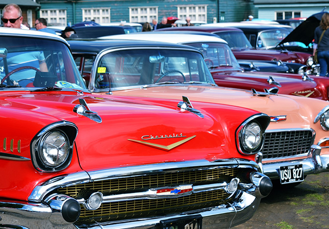 Brooklands Museum – American Cars & Motorbikes Day