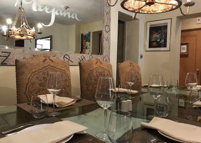 Meejana Lebanese Restaurant Refurbished Dining Room