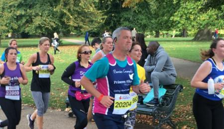Royal Parks Half Marathon - Princess Alice Hospice