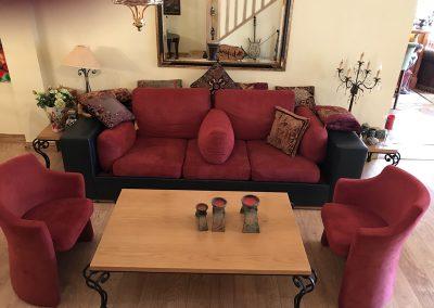 Sofas in Weybridge Lebanese Restaurant