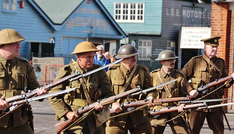 Brooklands Museum Weybridge Surrey - Great War Day