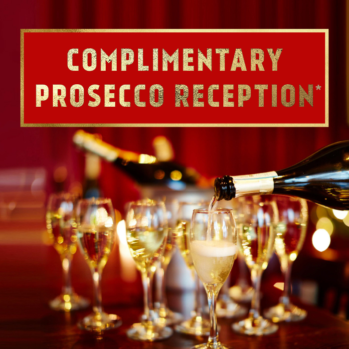 Complimentary Presseco Reception
