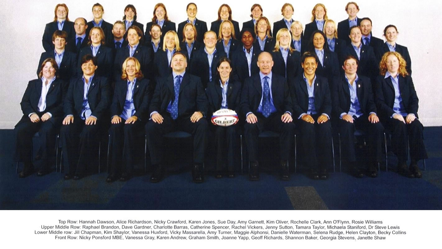 England Rugby Elite Squad Womens Team - Sports Massage Therapy by Rebecca Collins Hersham Surrey