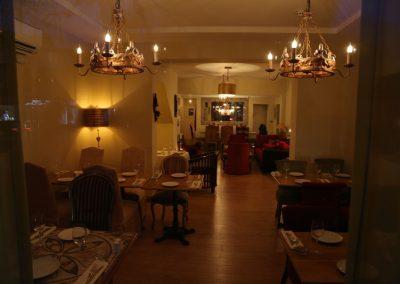 Meejana Lebanese Restaurant at Night
