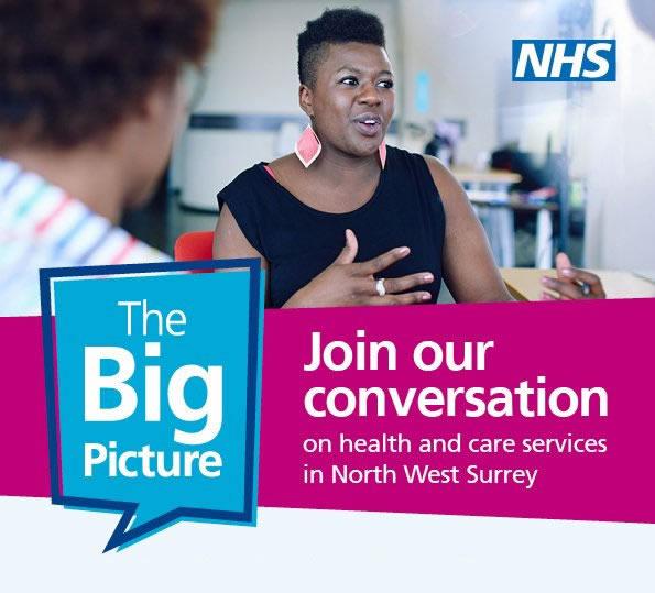 The Big Picture Event Weybridge NHS