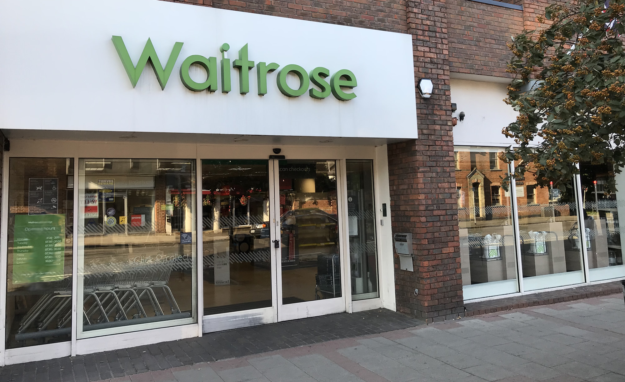 Waitrose Supermarket Weybridge Surrey - Waitrose & Partners