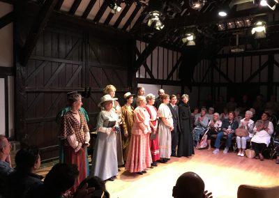 Weybridge Families First World War Play at Riverhouse Barn Walton on Thames Elmbridge - Cast