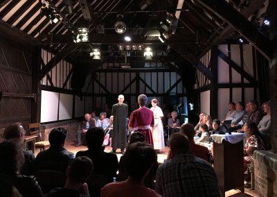 Weybridge Families Great War Play at Riverhouse Barn Walton on Thames Elmbridge - Quick Fix Theatre