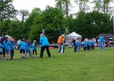 Beavers Scouts Tug of War Fun