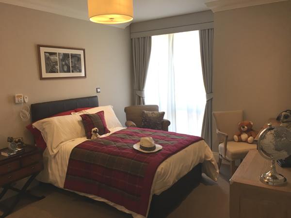 Bedroom in One Bedroom Apartment