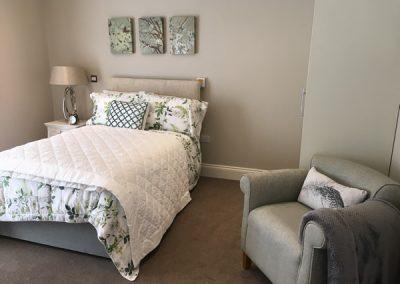Bedroom in One Bedroom Deluxe Apartment