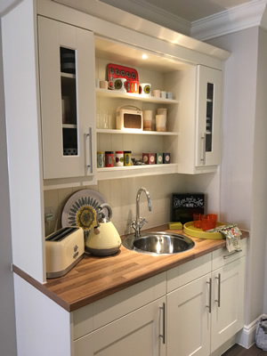Kitchenette in all Assisted Living Suites