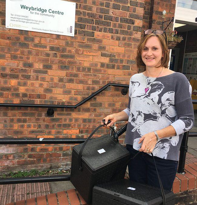 Why I Volunteer – Elmbridge Meals On Wheels – Liz Farmer