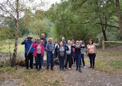 Nordic Walk from Garsons Farm Esher - Elmbridge Borough Council Healthy Walk