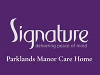 Parklands Manor Care Home Chertsey Surrey
