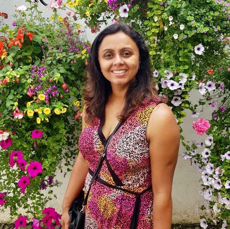 Weybridge in Bloom organiser Charu Sood
