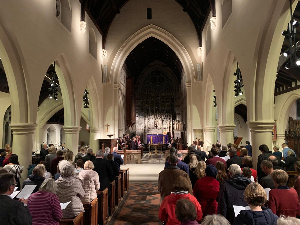 Elmbridge Rentstart Christmas Carol Concert at St James Church Weybridge Surrey