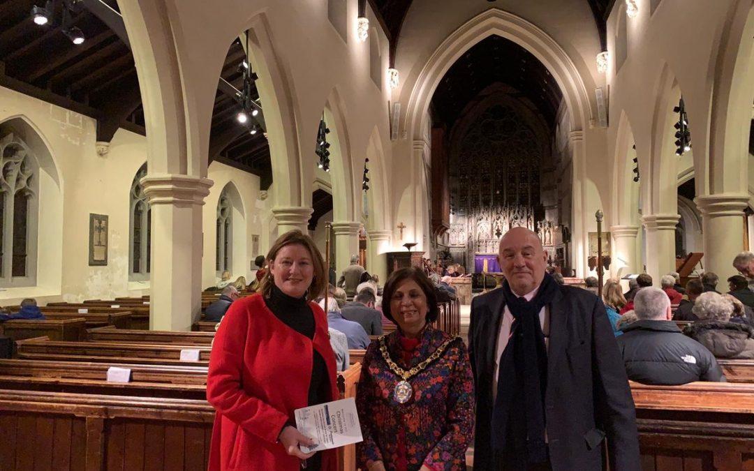 Fantastic Evening at Elmbridge Rentstart Christmas Concert In Weybridge