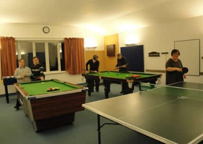 Games Room in use