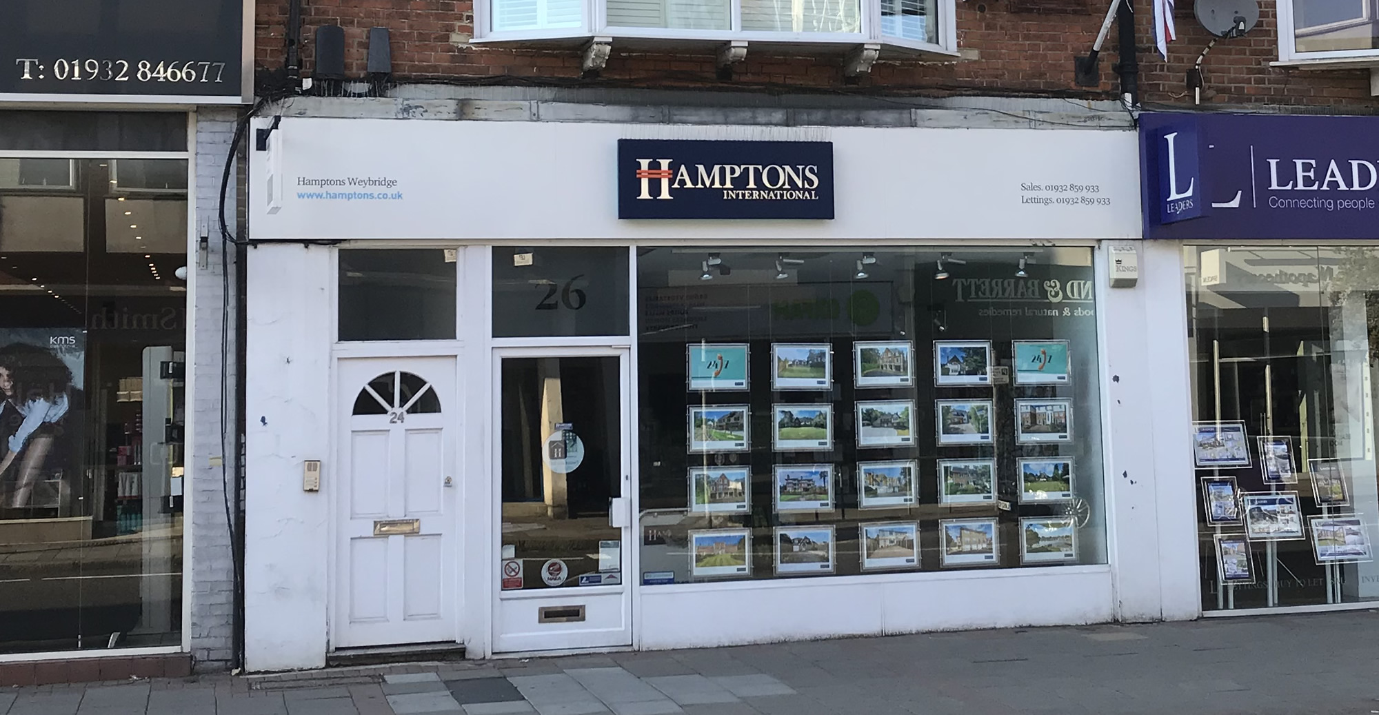 Hamptons International Weybridge Surrey