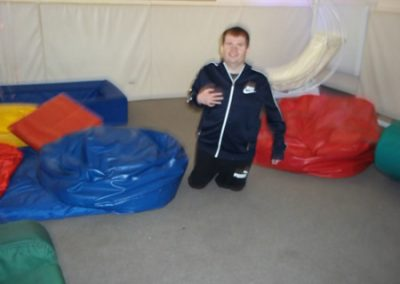 James in Sensory Room