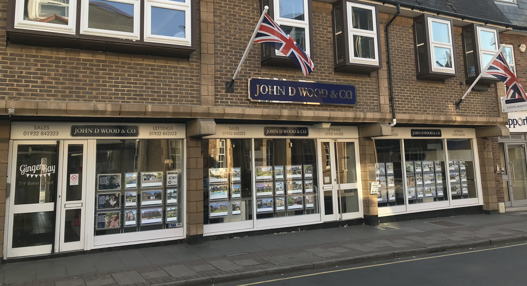 John D Wood & Co Weybridge Surrey