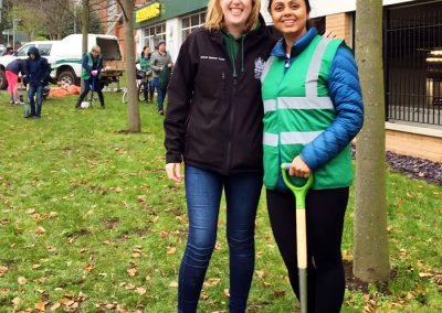Weybridge In Bloom Bulb Planting - Organised by Charu Sood