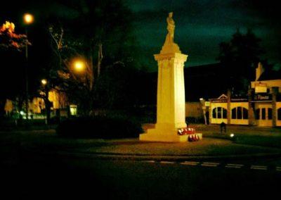 Weybridge War Memorial - Remembrance Sunday 2011