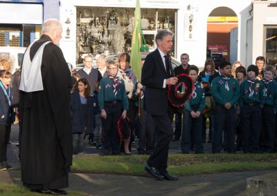 Weybridge Wreath Laying Ceremony at the War Memorial Monument Hill