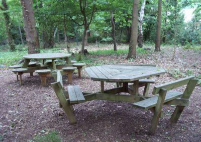 Woodland seats