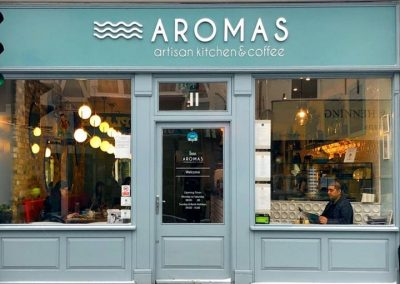 Aromas Artisan Cafe Weybridge Surrey