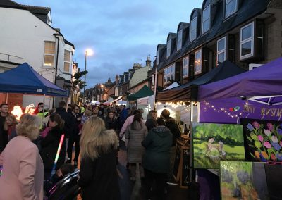 Art Stall at Weybridge Christmas Market