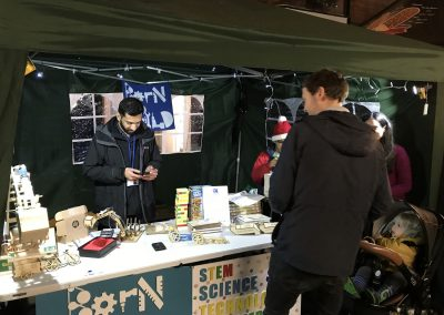 Born To Build Stall - Baker Street Weybridge Christmas Market