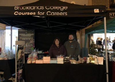 Brooklands College - all things Christmas from their amazing trainee chefs