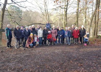 Christmas Day Group Photo - Cobham Healthy Walk