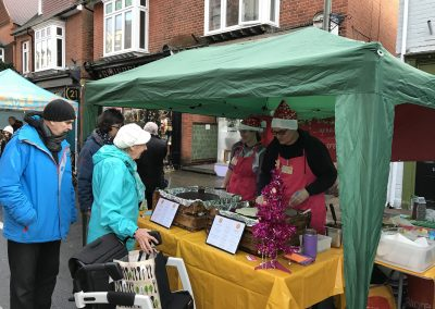 Flipping Amazing Pancake Stall at Weybridge Christmas Market