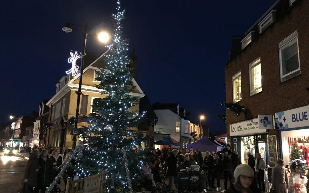 Weybridge Christmas Market Update & Christmas Trees Appeal