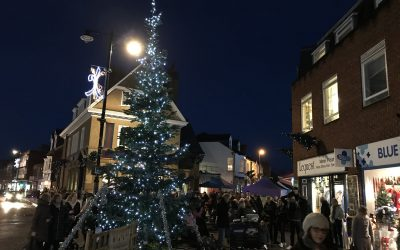 Weybridge Christmas Market Update & Christmas Trees Appeal