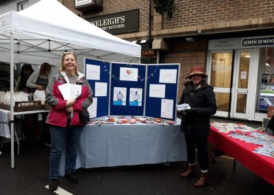Weybridge Dementia Action Alliance at Weybridge Christmas Market 2018