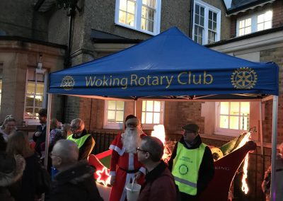 Woking Rotary Charity at Weybridge Christmas Market